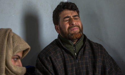Kashmiri dad charged under anti-terror law for claiming dead son's body