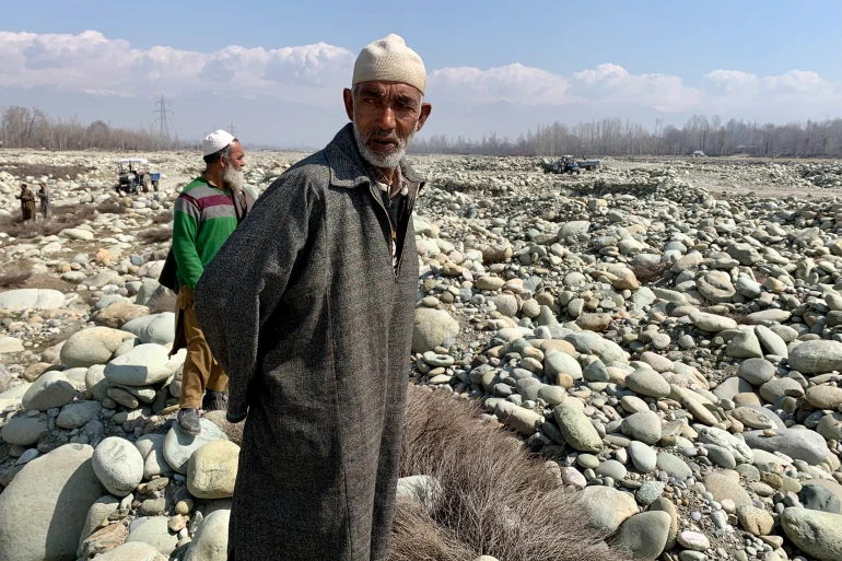 'Daylight loot': Kashmir farmers suffer as rivers illegally mined