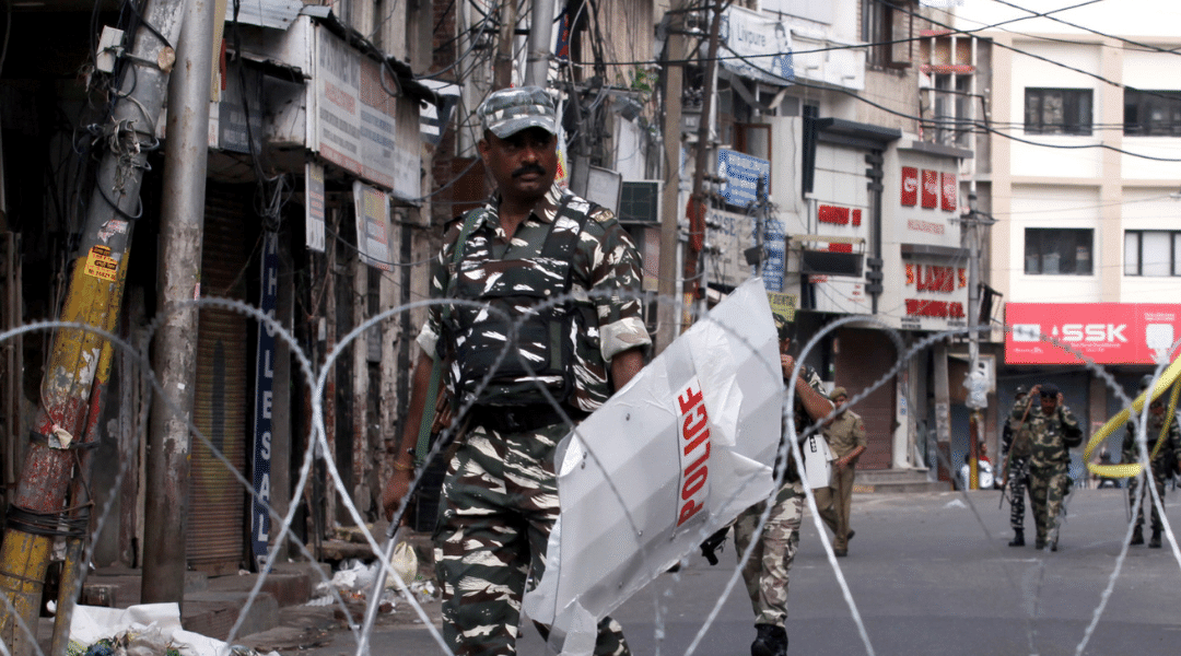 Death of detained Kashmiri leader triggers serious human rights violations
