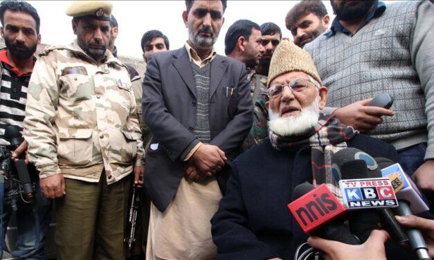 Syed Ali Geelani: Deceased Kashmiri leader's 'strength, perseverance' hailed